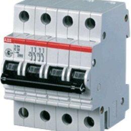 Защитная автоматика - Автоматический выключатель ABB S254 С20, 0