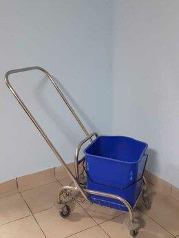 Поломойные и подметальные машины - ведро для мытья пола на колесиках, 0