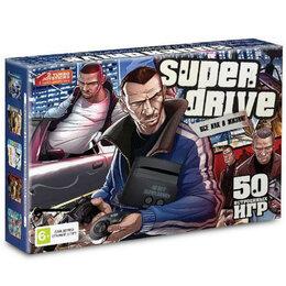 ТВ-приставки и медиаплееры - 16bit Super Drive GTA (55-in-1) Black*, 0
