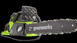 Электро- и бензопилы цепные - Аккумуляторная цепная пила Greenworks GD40CS40K4, 0