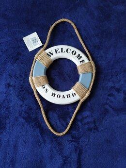 Таблички - Новый сувенир / табличка Welcome on board Италия, 0