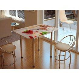 Столы и столики - Стол обеденный с принтом, 0