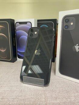 Мобильные телефоны - iPhone 11 Black 256gb б/у Ростест, 0