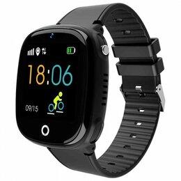 Умные часы и браслеты - Детские часы с GPS Smart Baby Watch HW 11 Black, 0
