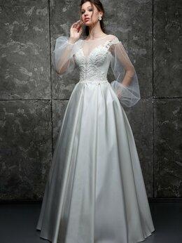Платья - Атласно свадебное платье Вита размер от 40 до 46, 0
