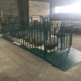 Весы для животных - Весы ВЭП Норма-Дон 1-10 платформенные для скота с ограждениями, 0