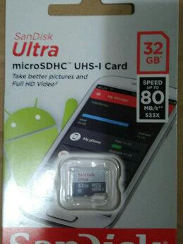 Карты памяти - Карта памяти SanDisk microSDHC 32Gb Ultra…, 0