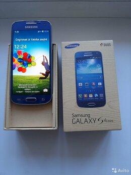 Мобильные телефоны - Samsung Galaxy S4 mini +пленка+бампер, как новый, 0