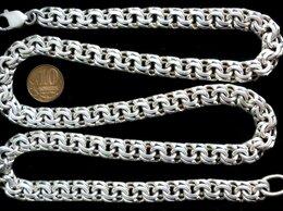 Цепи - Массивная серебряная цепь Бисмарк.Вес 121…, 0