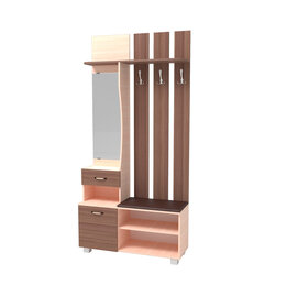 Шкафы, стенки, гарнитуры - Прихожая Мона-1.1 Лайт, 0