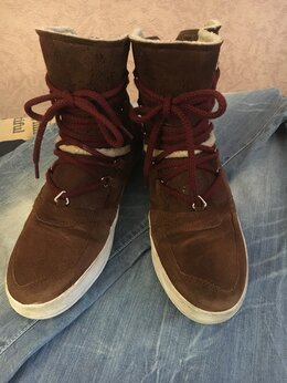 Ботинки - Ботинки зимние замшевые Gabor оригинал , 0