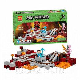 Игровые наборы и фигурки - Конструктор Minecraft My World «Подземная железная дорога», 0