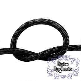 Кабели и провода - Провод круглый в оплетке чёрный, 0