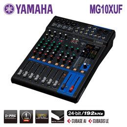 Микшерные пульты - Yamaha MG10XUF Микшерный пульт USB с процессором…, 0