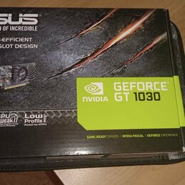Видеокарты - Видеокарта Asus GeForce GT 1030 2GB DDR5, 0