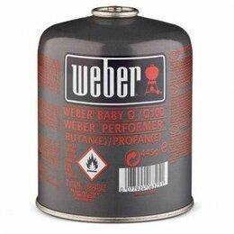 Плиты и варочные панели - Газовый картридж Weber, 0