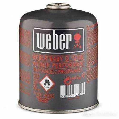 Газовый картридж Weber по цене 790₽ - Картриджи, фото 0