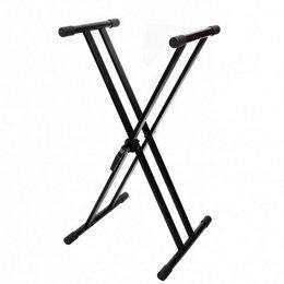 Клавишные инструменты - ACURY KS-011 Стойка для клавишных, ХХ-тип, цвет чёрный, 0