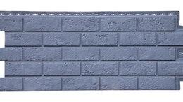Фасадные панели - Фасадные панели Состаренный кирпич Графит, 0
