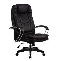 Компьютерные кресла - Кресло руководителя Metta LK-11 (Черный 721), 0