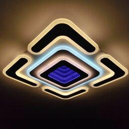 Люстры и потолочные светильники - Стильная люстра светодиодная с пультом ду (108), 0