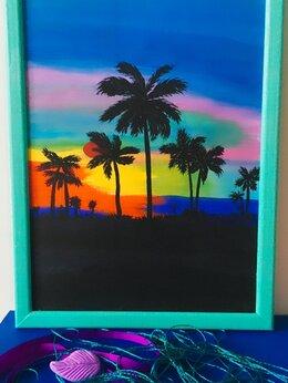 Картины, постеры, гобелены, панно - Картина «Гавайский закат», 0