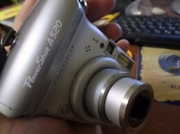 Фотоаппараты - Цифровой фотоаппарат Canon PowerShot A520, 0