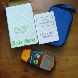 Измерительные инструменты и приборы - Тахометр цифровой., 0