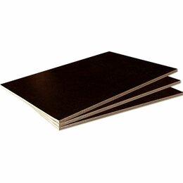 Древесно-плитные материалы - Фанера ламинированная Россия (Береза) F/F 1/1…, 0
