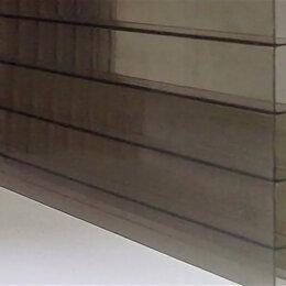 Поликарбонат - Сотовый поликарбонат 6 мм бронза, 0