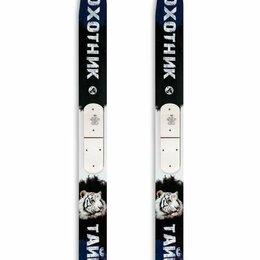 Беговые лыжи - Охотничьи лыжи Маяк Тайга 155х15 см, дерево-пластик, 0