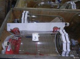 Производственно-техническое оборудование - Стеклянный Химический Цилиндрический Реактор 100л, 0