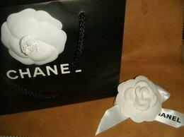 Броши - Брошка камелия с лентой Шанель Chanel., 0