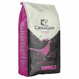 Корма  - Корм Canagan GF Highland Feast all breeds для соба, 0