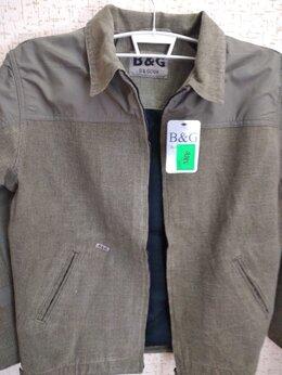 Куртки - Новая демисезонная хб ветровка на фланелевой …, 0