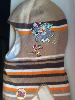 """Головные уборы - Шапка-шлем """"Том и Джерри"""" на мальчика размер 50-52, 0"""