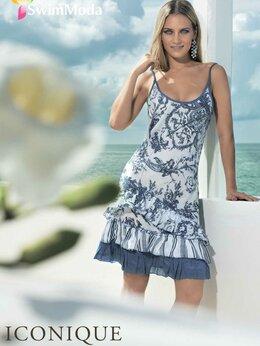 Пляжная одежда - Летнее платье-сарафан Iconique (Италия), 0