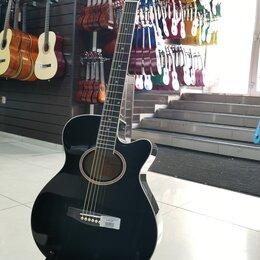 Акустические и классические гитары - Акустическая гитара LF-401C-R, 0