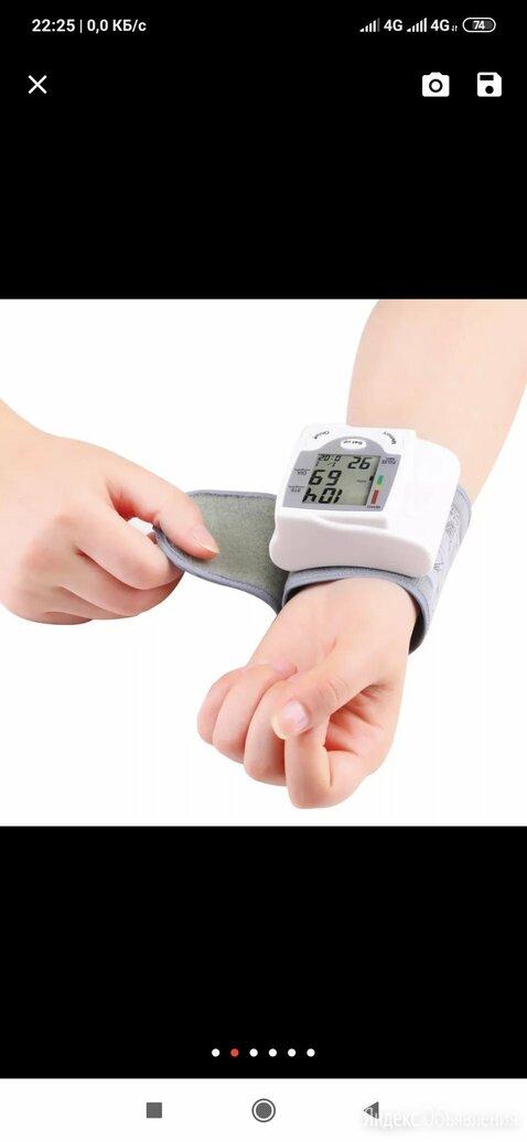 Тонометр цифровой по цене 1200₽ - Устройства, приборы и аксессуары для здоровья, фото 0