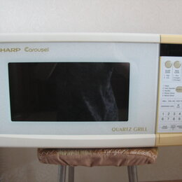 Прочая техника - Микроволновка c грилем Sharp Quartz GRILL...(Япония), 0