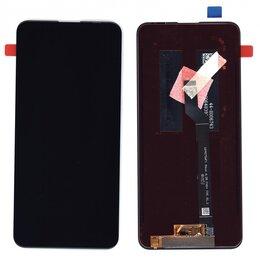 Дисплеи и тачскрины - Модуль - для Asus ZenFone 6 ZS630KL черный, 0