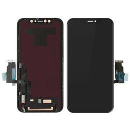Дисплеи и тачскрины - Дисплеи для Iphone XR, черный(ААА+), 0