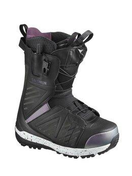 Защита и экипировка - Ботинки для сноуборда женские Salomon Lush, 0