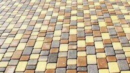 Тротуарная плитка, бордюр - Брусчатка «Брук классика камень» Старый город, 0