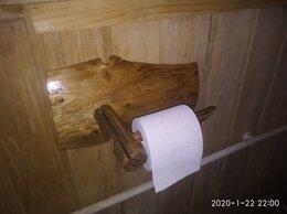 Держатели и крючки - Держатели для туалетной бумаги из дерева, 0