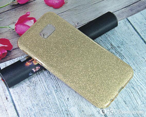 Чехол-накладка для Samsung J415 J4+ 2018 JZZS Shinny 3в1 TPU золото по цене 180₽ - Чехлы, фото 0