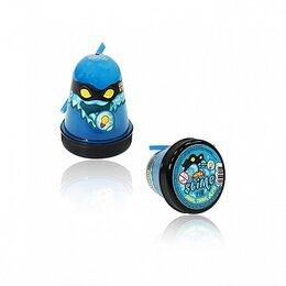 "Игрушки-антистресс - Слайм Slime ""Ninja"", Синий, светится в темноте, 0"