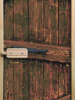 Двери - Дверь для бани со термостеклом фотопечать, 0