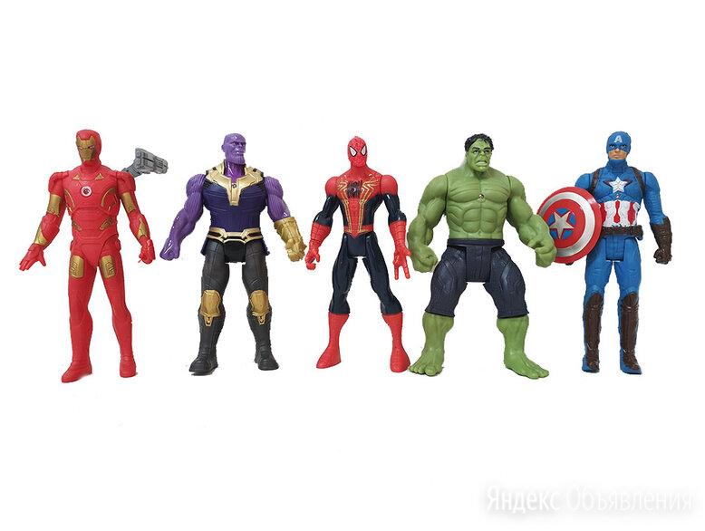 Фигурки Халк, Железный человек, Танос, Человек Паук по цене 450₽ - Игровые наборы и фигурки, фото 0