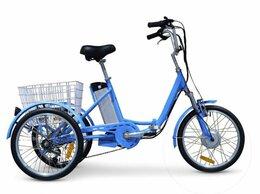 Мототехника и электровелосипеды - Электровелосипед GreenCamel Трайк-20 , 0